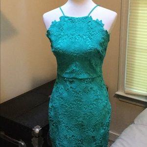 Beautiful Lace Dress by Bisou Bisou.